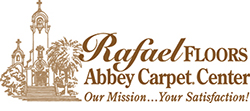 Rafael Floors Abbey Carpet Center Logo