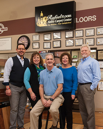 Picture of the staff at Rafael Floors - Abbey Carpet