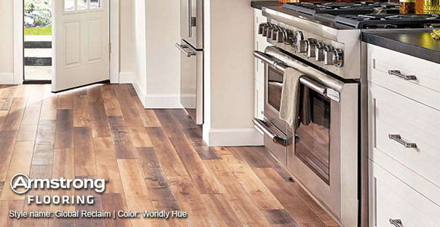 Armstrong Laminate Flooring: Style Name: Global Reclaim | Color: Worldly Hue